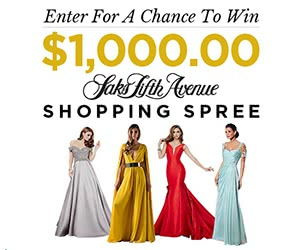 Win $1000 Saks Fifth Avenue Gift Card