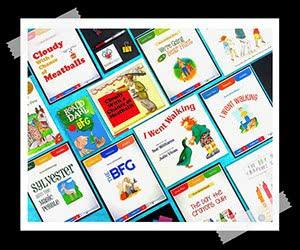 Free Resource Set For Six Popular Children's Books