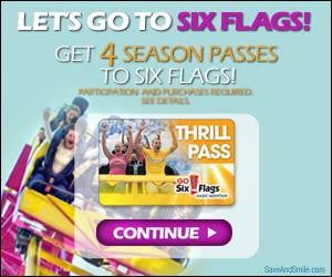 Free Four Season Passes to Six Flags