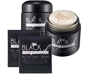 Free Black Snail All-In-One Cream Sample