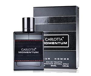 Free Carlotta Momentum Fragrance Sample