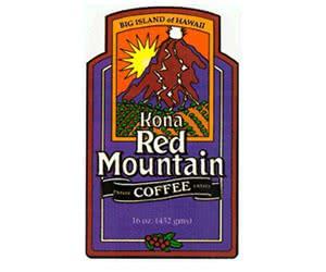 Free Kona Red Mountain Hawaii Coffee Samples