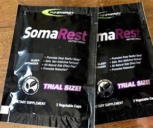 Free HighEnergy Labs SomaRest Sleep Optimizer Sample