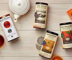 Free Republic Of Tea Samples & Catalogue