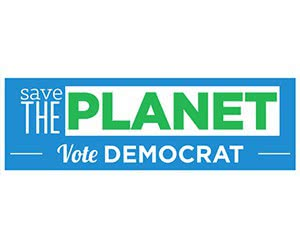 """Free """"Save The Planet"""" Sticker"""