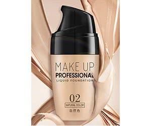 Free Make Up Professional Liquid Foundation Sample