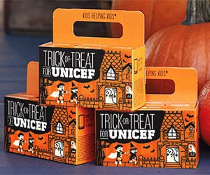 Free Trick-Or-Treat For UNISEF Box