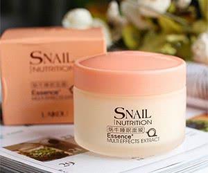 Free Snail Sleeping Mask Essence Moisturizing Night Cream Anti Aging Wrinkle Cream