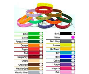 Free Homemade Crafts Respect Silicone Bracelet