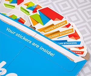 Free Make Stickers Sticker Sample Pack