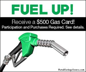 Free $500 Gas Gift Card