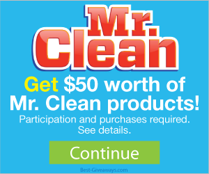 Free Mr. Clean Products