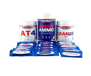 Free Patriots Sports Nutrition Samples