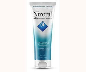 Free Nizoral A-D Anti-Dandruff Shampoo Sample