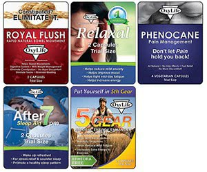 Free OxyLife Nutritional Supplements Samples Packs