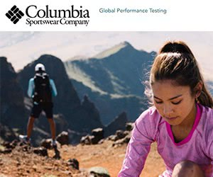 Free Footwear and Apparel from Columbia