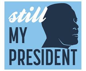 "Free ""Still My President"" Sticker"