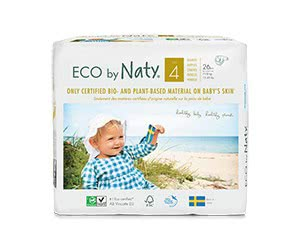 Free Naty Baby Diapers Trial Box