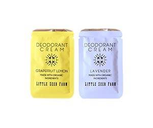 Free Little Seed Farm Natural Deodorant Cream x2 Samples