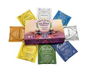 Free Pukka Collective Organic Tea Sachets