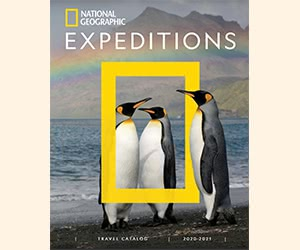 "Free National Geographic ""Expeditions"" Printed Catalogues"