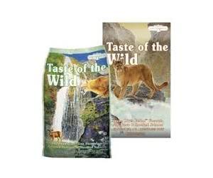 Free Taste of Wild Cat Food Sample