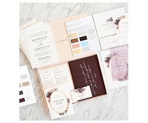 Free Minted Weddings Invitations Sample Kit