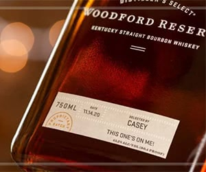 Free Woodford Reserve Personalized Labels