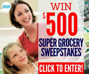 Win $500 Super Grocery Sweepstakes