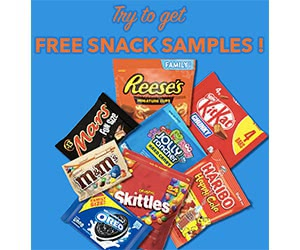 Free Reese's, KitKat, Mars, Jolly Rancher, Oreo And More Sweet Snacks Samples
