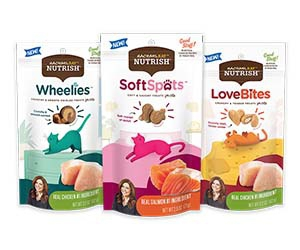 Free Rachael Ray Nutrish Soft Spots Cat Treats Samples