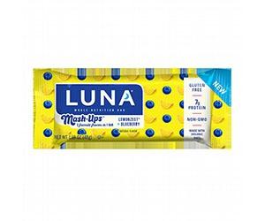 Free Luna Mash-Ups Lemonzest And Blueberry Protein Bar
