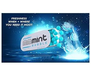 Free MMMint Spearmint Bubbles Sample