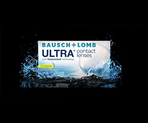 Free Bausch + Lomb Ultra Contact Lenses Trail Pack