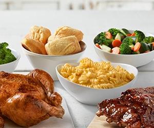 Free Boston Market Individual Meal
