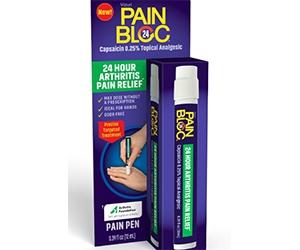 Free PainBloc24 Pain Pen Analgesic