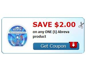 Save $2.00 on any ONE (1) Abreva product