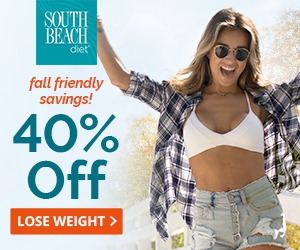 Have your meal plan handled, and get 40% OFF from South Beach Diet