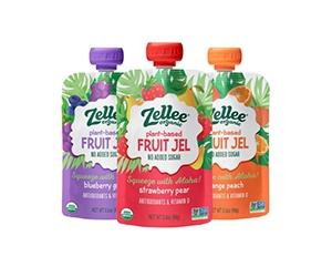 Free Plant-based Fruit Jel Samples from Zellee Organic