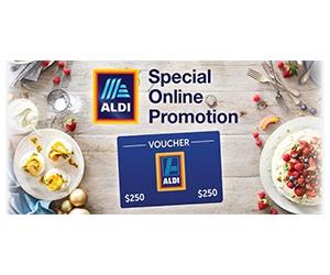 Free $250 Aldi Gift Card