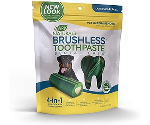 Free Brushless Toothpaste Dental Chews From Ark Naturals