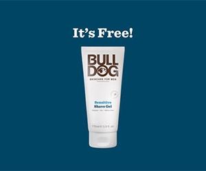 Free full-size Sensitive Shave Gel