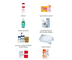 Free Safetec Hand Sanitizer, Sunscreen Lotion, Antimicrobial Wipes, Lip Balm And More Products