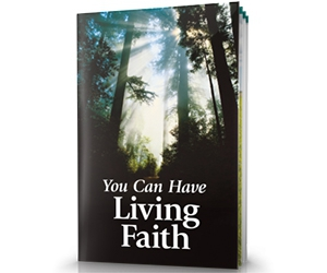 """Free """"You Can Have Living Faith"""" Bible Study Aid Booklet"""