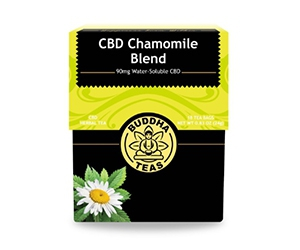 Free CBD Tea Sample from Buddha Teas