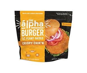 Free Alpha Foods Plant-Based Chicken Burger