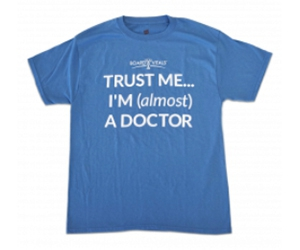 """Free """"Almost A Doctor"""" T-Shirt"""