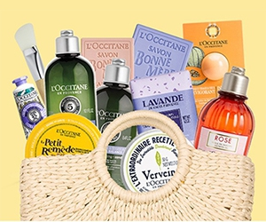 Win A Summer Beauty Bag With Skincare Samples From L'Occitane