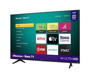 Free Hisense Roku 4K UHD TV