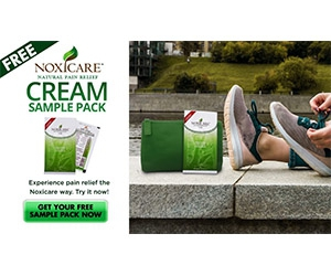 Free Noxicare Pain Relief Cream Sample